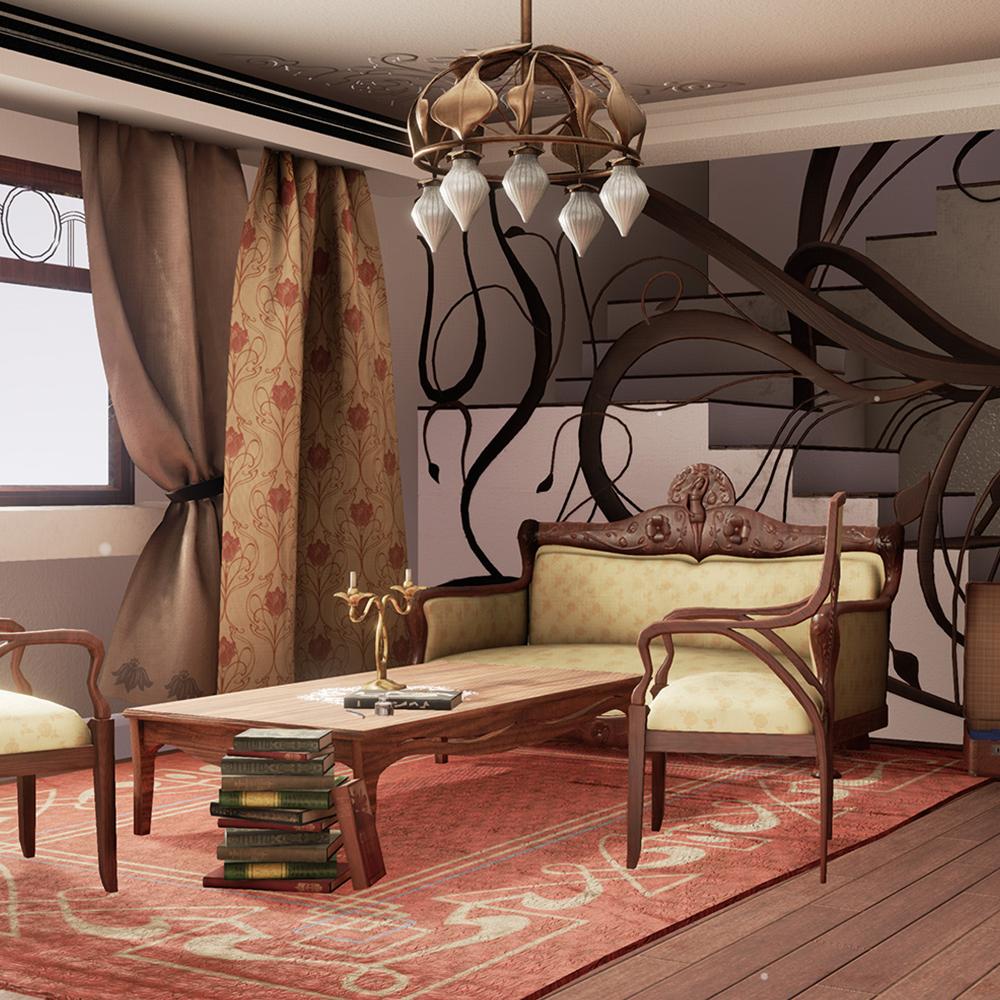 Art Nouveau Room Teaser